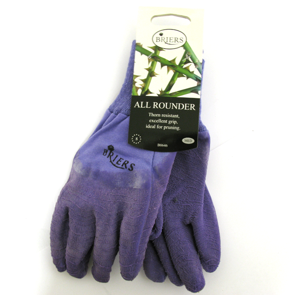 Briers All Rounder Gardening Gloves Purple Medium B0646