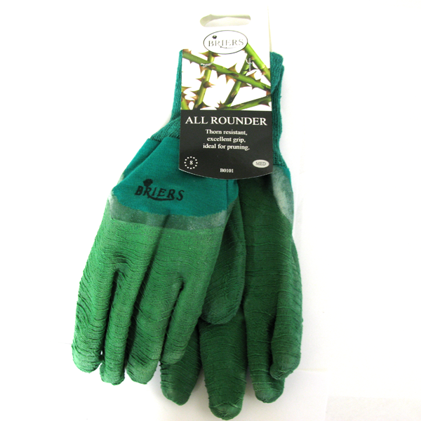 Briers All Rounder Gardening Gloves Green Large B0118