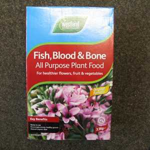 Westland Fish Blood and Bone All Purpose Plant Food 3.5Kg