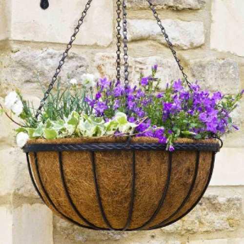 Saxon Hanging Basket 14 inch by Smart Garden 6030031