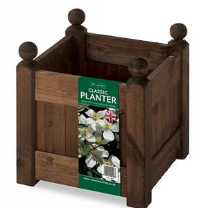 AFK Garden - Classic Planter Oak 12 inch