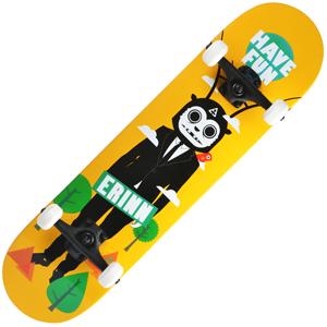 Backfire Erinn Have Fun (Yellow) Skateboard