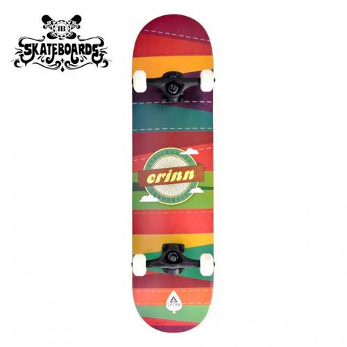 Backfire Erinn Patchwork (Red) Skateboard