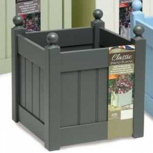 AFK Garden - Classic Painted Planter 460 Heritage Charcoal 20 inch Height