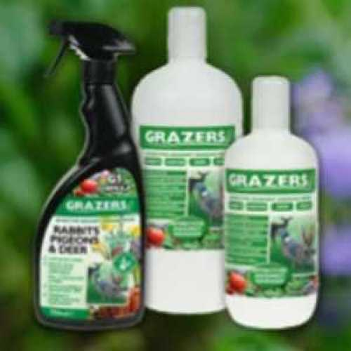 Grazers G1 Pest Control Against Rabbits, Pigeons, Deer and Geese Ready To Use 750ml