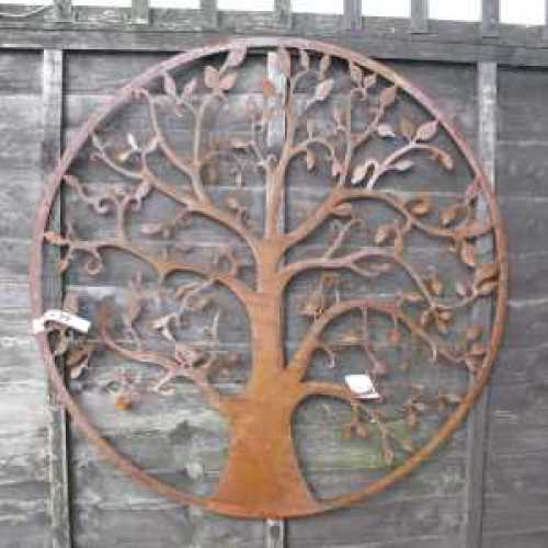 Metal Wall Art by The Old Basket Supply Company (tobs) - 24611