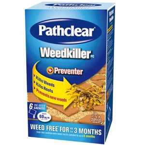 Pathclear Weedkiller 6 Sachet Carton