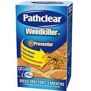 Pathclear Weedkiller 12 Sachet Carton