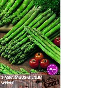 Asparagus Gijnlim Green/Crowns 3 Per Pack