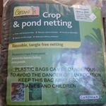 Gardman Crop & Pond Netting 4mtr x 2mtr