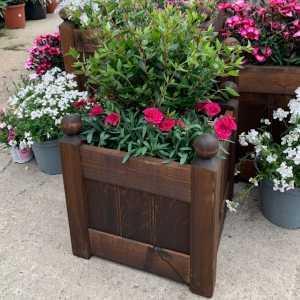 AFK Garden - Classic Planter Chestnut 15 inch