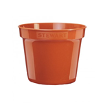 Premium (Terracotta) Flower Pot 8in - 20cm - Stewart Garden 2835014