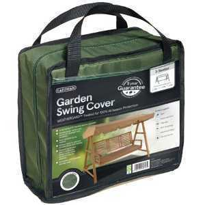 Gardman Black 3 Seat Garden Swing Cover 35655