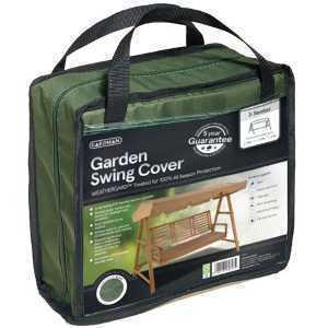 Gardman Black 3 Seat Garden Swing Cover 35655