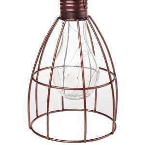 Cole & Bright Solar Caged Lightbulb L23005