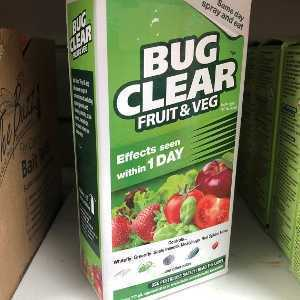 Bug Clear Ultra Fruit & Veg Concentrate 200ml