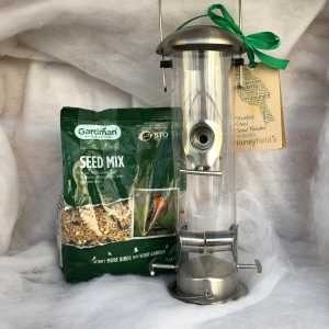 Bird Feed Stainless Steel Gift Set
