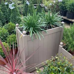 AFK Garden - Classic Painted Tall Trough  Nutmeg  660