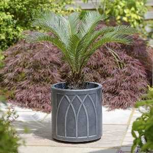 Stewart Garden Lead Effect Versailles 32cm Round Planter