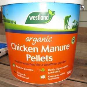 Organic Chicken Pellets By Westland 10kg